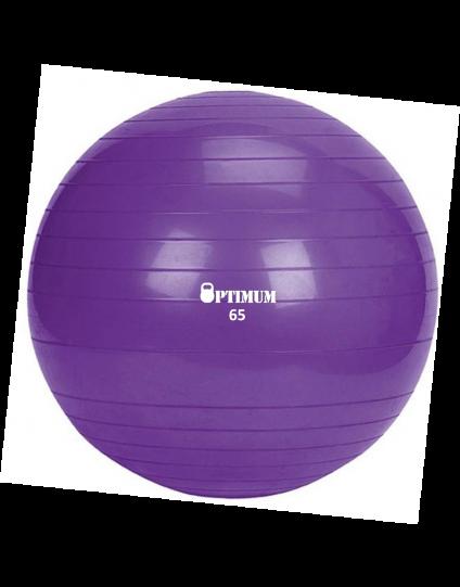 GYM BALL 65CM (ΜΟΒ) ANTI-BURST 1100GR