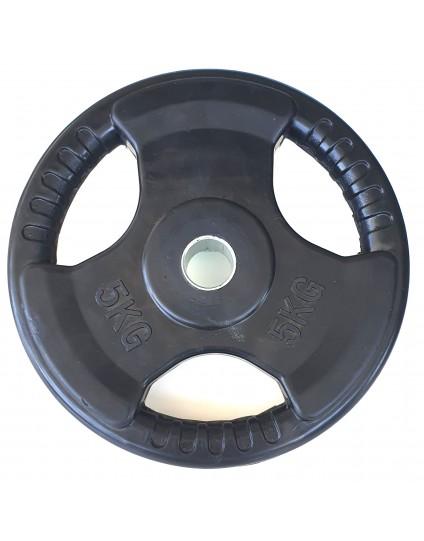 ΔΙΣΚΟΣ ΜΕ ΕΠΕΝΔΥΣΗ ΛΑΣΤΙΧΟ 5kg(Φ28)