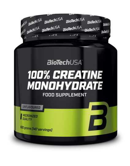 Creatine monohydrate 500gr Biotech Usa