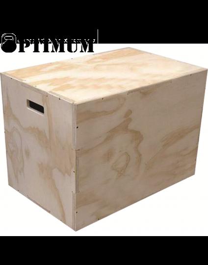 CROSSFIT BOX OPTIMUM 70x60x50cm (PLYO BOX)