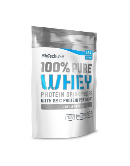 100% PURE WHEY BIOTECH USA 454GR