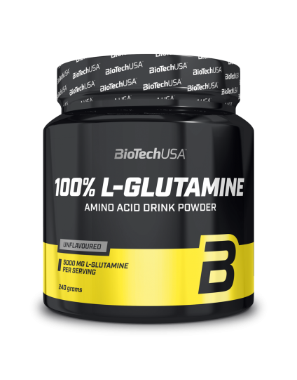 L-GLUTAMINE 100% BIOTECH 240gr