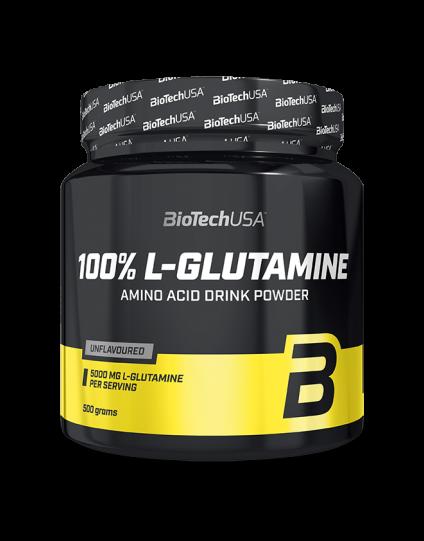 L-GLUTAMINE 100% BIOTECH 500gr