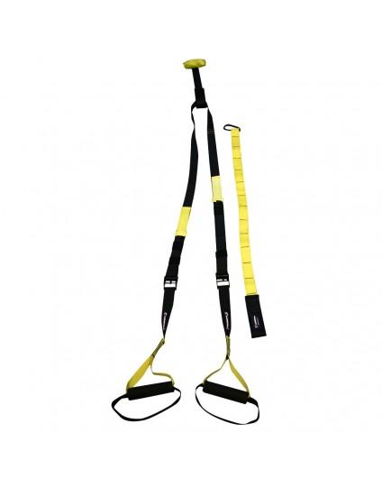 Ιμάντες άσκησης inSPORTline MultiTrainer κιτρινο