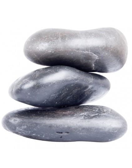 Basalt River Stone Set inSPORTline 10-12cm - 3 Τεμάχια