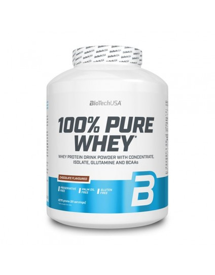 100% PURE WHEY BIOTECH USA 2270GR