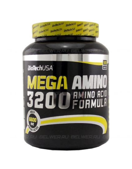 MEGA AMINO 3200 BIOTECH 500tbs