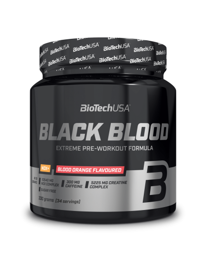 BLACK BLOOD NOX+ BIOTECH USA 330GR tropical fruit