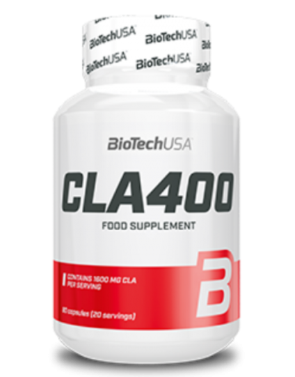 CLA 400 80caps Biotech Usa
