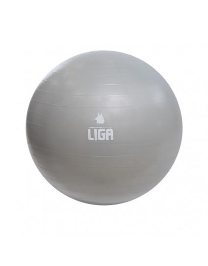 GYM BALL (ΓΚΡΙ) 65CM 1100GR LIGASPORT