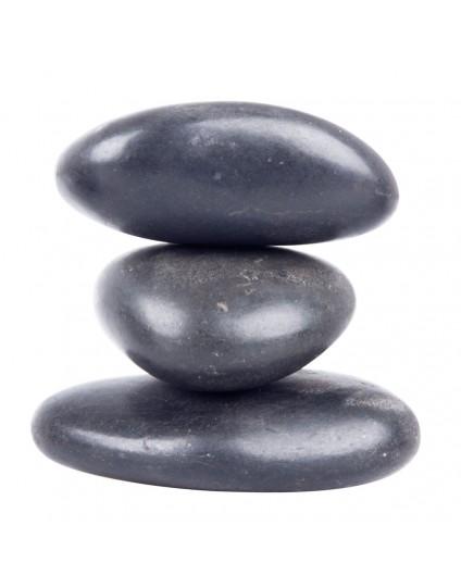 Basalt River Stone Set inSPORTline 7-9cm – 3 Τεμάχια