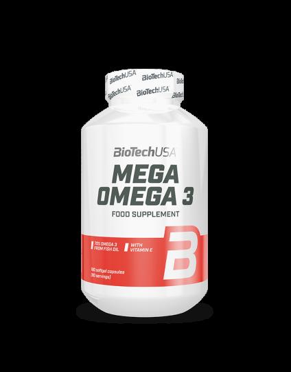 BioTech USA Mega Omega 3 90 Caps