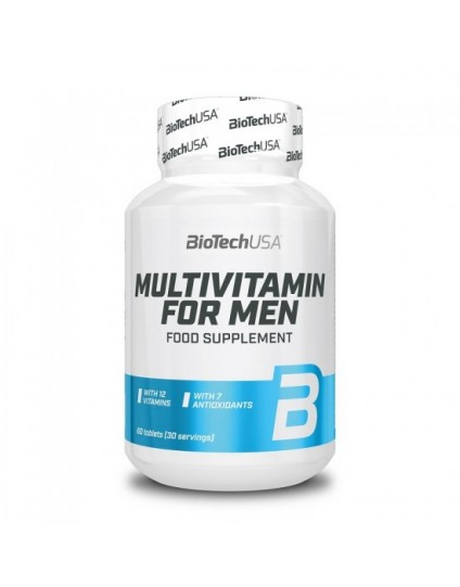 MULTIVITAMIN FOR MEN 60 TABS BIOTECH