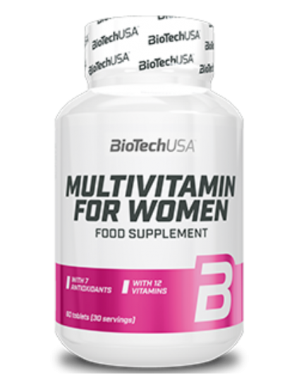 Multivitamin for Women 60tbl BIOTECH