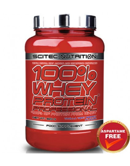 SCITEC NUTRITION 100% WHEY PROFESSIONAL 920GR