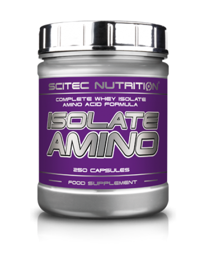 ISOLATE AMINO 250 CAPS SCITEC NUTRITION